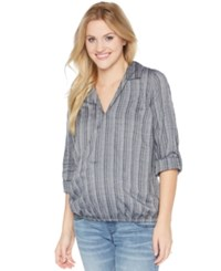 Wendy Bellissimo Maternity Striped Blouse