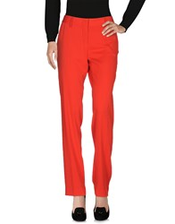 Entre Amis Casual Pants Red