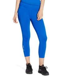 Polo Ralph Lauren Us Open Cropped Leggings Bright Imperial