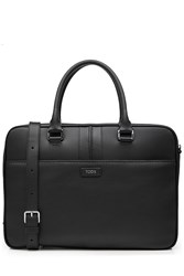 Tod's Tods Leather Briefcase Black