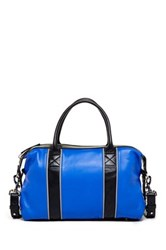 L.A.M.B. Gigi Leather Contrast Satchel