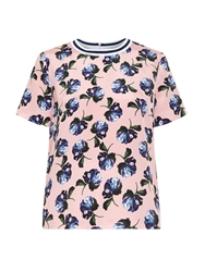 Mother Of Pearl Paget Floral Print Silk Top
