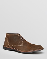 John Varvatos Star Usa Hipster Suede Chukka Boots Dark Ghurka Brown