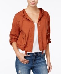 American Rag Cropped Cargo Jacket Only At Macy's Adobe