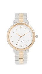 Kate Spade New York Morningside Watch 38Mm Gold Silver