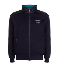 Hackett Aston Martin Racing Series Hooded Jacket Male Navy