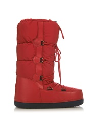 Moncler Moon Quilted Apres Ski Boots