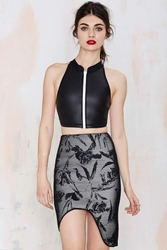 Nasty Gal Style Stalker Supernova Pencil Skirt