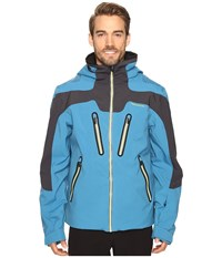 Obermeyer Spartan Jacket High Seas Men's Coat Blue