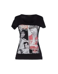 Romeo Y Julieta T Shirts Black