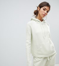 Micha Lounge Knitted Hoodie Two Piece Green