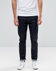 Only And Sons Indigo Jeans In Regular Fit Dark Blue
