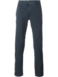 Jacob Cohen 'Comfort Vintage' Chino Trousers Blue