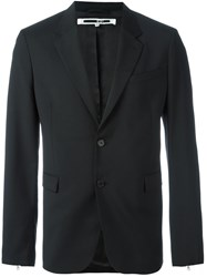Mcq By Alexander Mcqueen Single Breasted Dinner Jacket Black