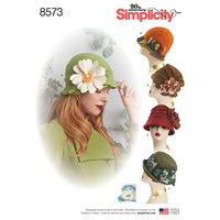 Simplicity 'S Hat Sewing Pattern 8573