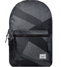 Herschel Supply Co. Black Portal Rubber Settlement Backpack Hypebeast Store.