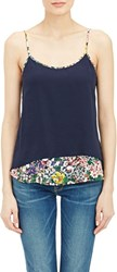 Boy By Band Of Outsiders Mock Layered Camisole Blue Size 1 2 Us