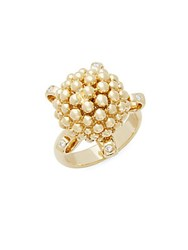 Temple St. Clair Diamond And 18K Yellow Gold Statement Ring