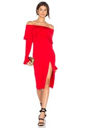 Vava By Joy Han Edita Dress Red