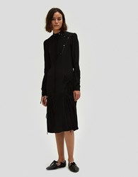 J.W.Anderson Exaggerated Pocket Dress Black