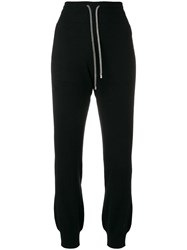 Barrie Cashmere Joggers Black