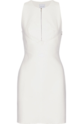 Dion Lee Cutout Tech Jersey And Mesh Mini Dress