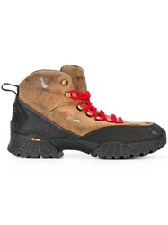 Alyx Hiking Short Boots Brown