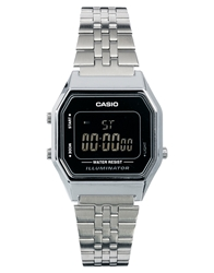 Casio La680wea Mini Digital Black Face Watch