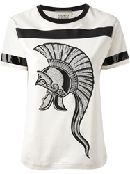 Fausto Puglisi Printed T Shirt White