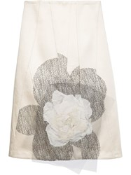 Creatures Of The Wind 'Seurat' Skirt White