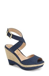 Women's J. Renee 'Sarila' Wedge Sandal Denim
