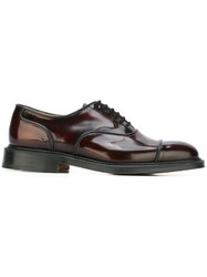 Church's Classic Oxford Shoes Red