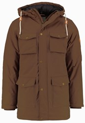 Redefined Rebel Winter Coat Dark Sand Brown