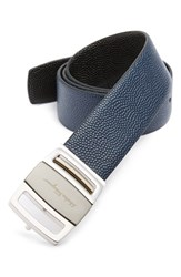 Men's Salvatore Ferragamo Calfskin Leather Belt