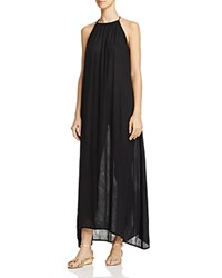 Echo Solid Maxi Dress Swim Cover Up Black