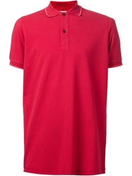 Tomas Maier Classic Polo Shirt Red
