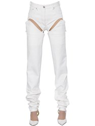 Y Project Cutout Transformer Cotton Denim Jeans