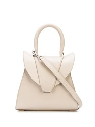 Elena Ghisellini Structured Leather Tote 60