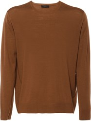 Prada Wool Sweater Brown