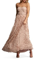 Eci Women's Embellished Gown Blush