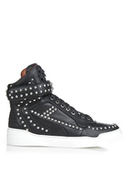 Givenchy Tyson Studded Leather High Top Trainers