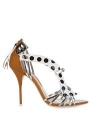 Sophia Webster Liberty Polka Dot Leather Sandals