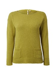 White Stuff Pepperpot Knit Jumper Green