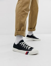 Pro Keds Royal Lo Classic Canvas Trainer In Black