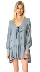 Wildfox Couture Midnight Walker Dress Vision Blue