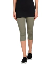 Cocchetti Trousers Leggings Women Military Green