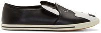 Marc By Marc Jacobs Black Neville Slip On Sneakers