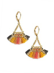 Shashi Lilu Harvest 18K Gold Plated Vermeil Sterling Silver Earrings