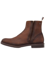 Jack And Jones Jfwzippy Boots Brown Black