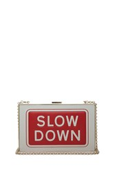 Anya Hindmarch Imperial Slow Down Clutch Multi